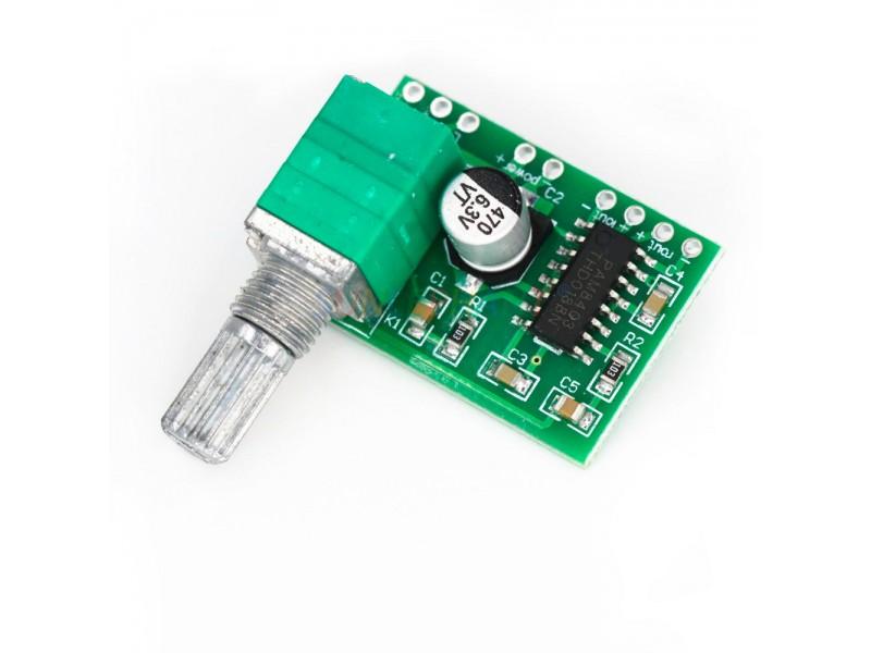 PAM8403 двоканальний стерео аудіо підсилювач потужності 2*3 Вт