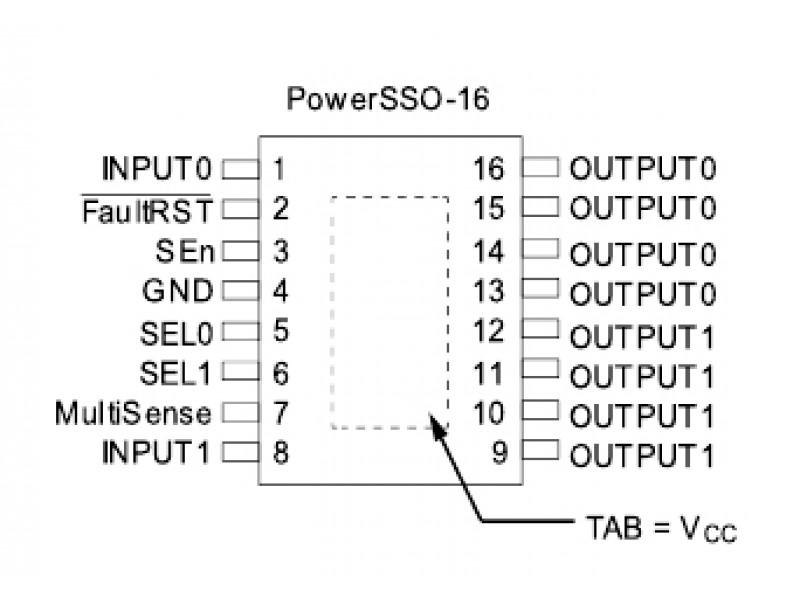 Мікросхема VND7050A, VD7050A, драйвер
