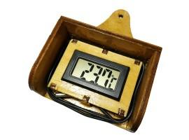 Крепление для термометра, держатель термометра с фанеры