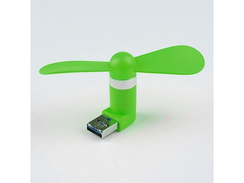 Вентилятор micro USB-USB охолодження