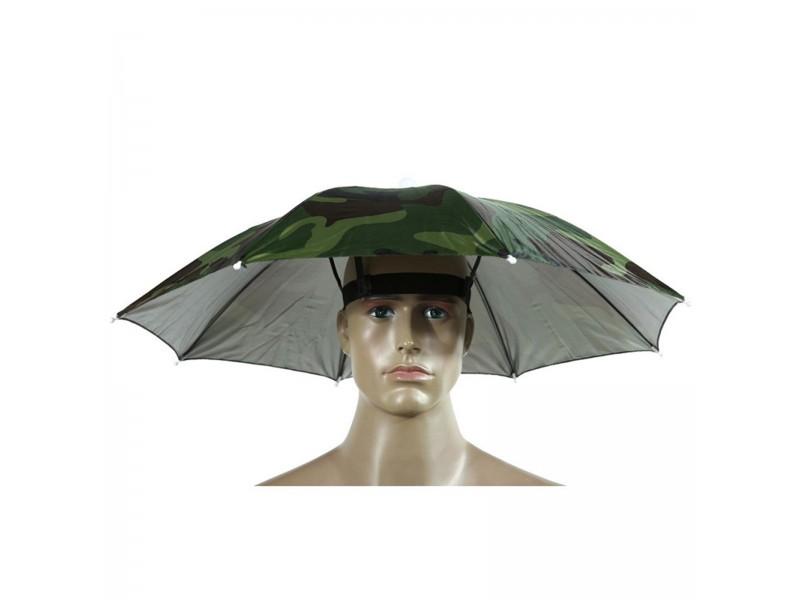Шапка зонтик дождевик солнцезащитная складная