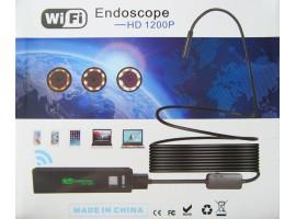Эндоскоп - Бороскоп - камера - WiFi - iPhone - Android - Windows