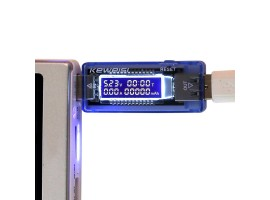 Измеритель тока, напряжения, емкости батареи, Ваттметер USB