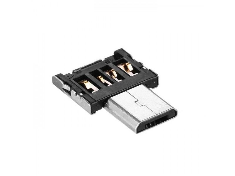 Адаптер micro USB - USB мини размер