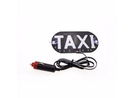 Такси светодиодный знак TAXI LED табло на лобовое стекло 12В от прикуривателя