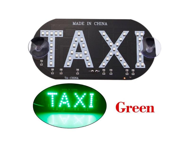 Таксі світлодіодний знак TAXI LED табло на лобове скло 12В